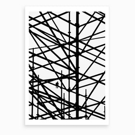 Coffe Break Art Print