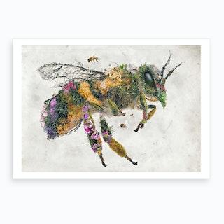 Must Bee The Honey Art Print