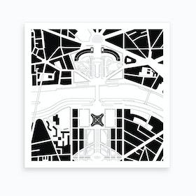 Eiffel-Trocadero Paris Art Print