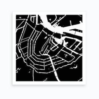 Amsterdam, City of Channels Art Print