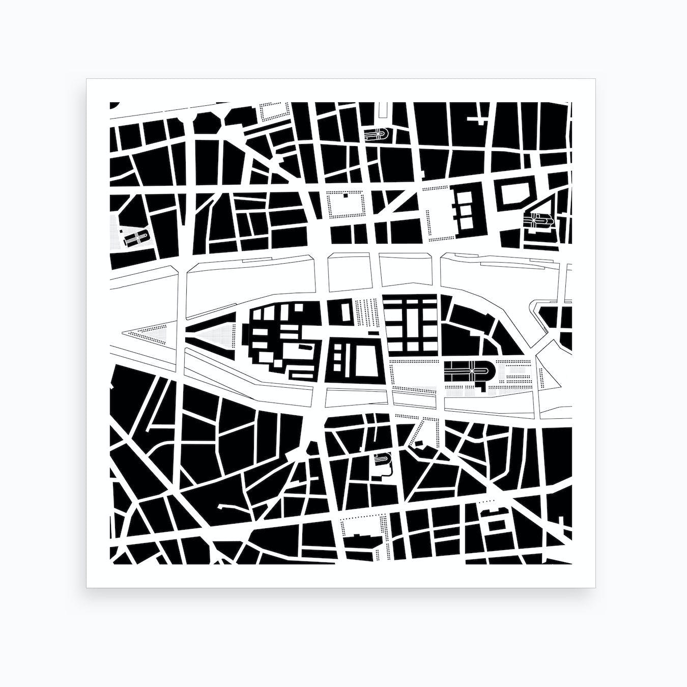 City Island Paris Art Print