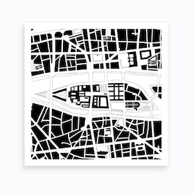 City Island Paris Art Print