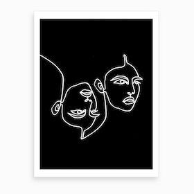Ava Black and White
