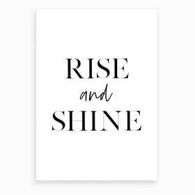 Rise and Shine XI Art Print
