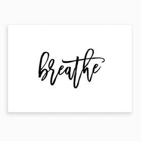 Breathe IX Art Print