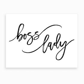 Boss Lady I Art Print