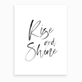 Rise and Shine XII Art Print