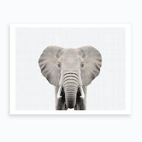 Elephant X Art Print
