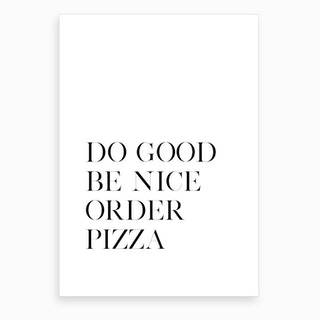 Order Pizza II Art Print