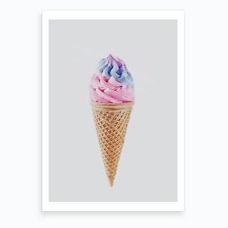 Ice-Cream X Art Print