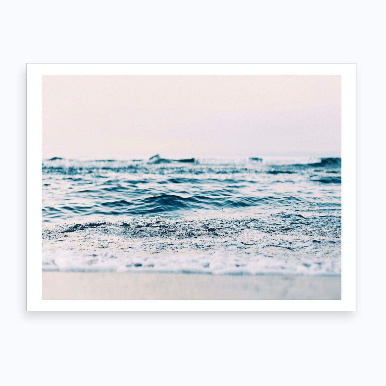 Ocean Blush Art Print