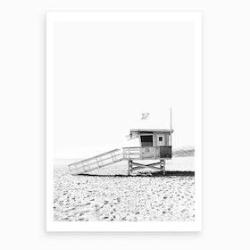 Watch Tower BW Art Print