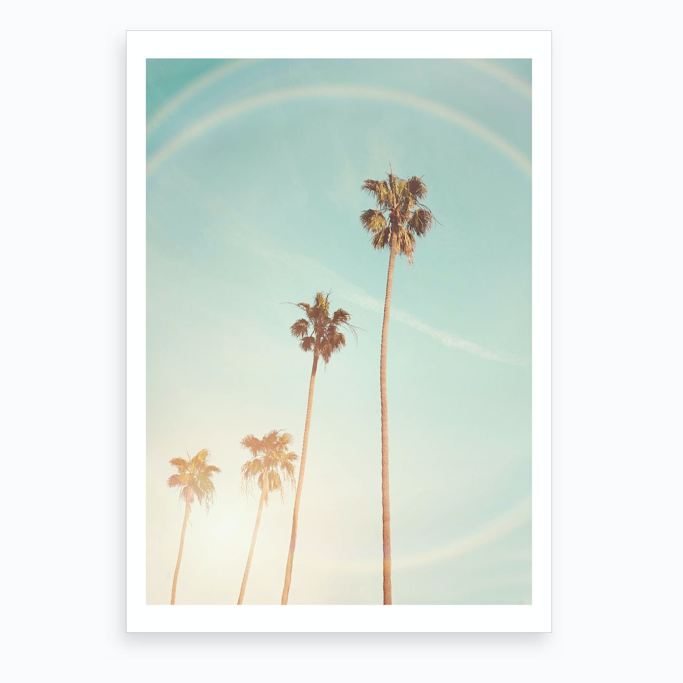 Cali Sun Art Print