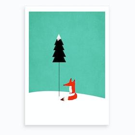 Little Mister Fox Art Print
