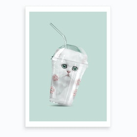 Catshake Art Print