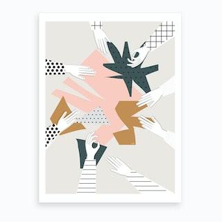Party X Art Print