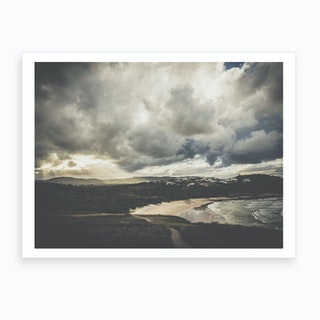 Sunset at the Beach 2 Art Print