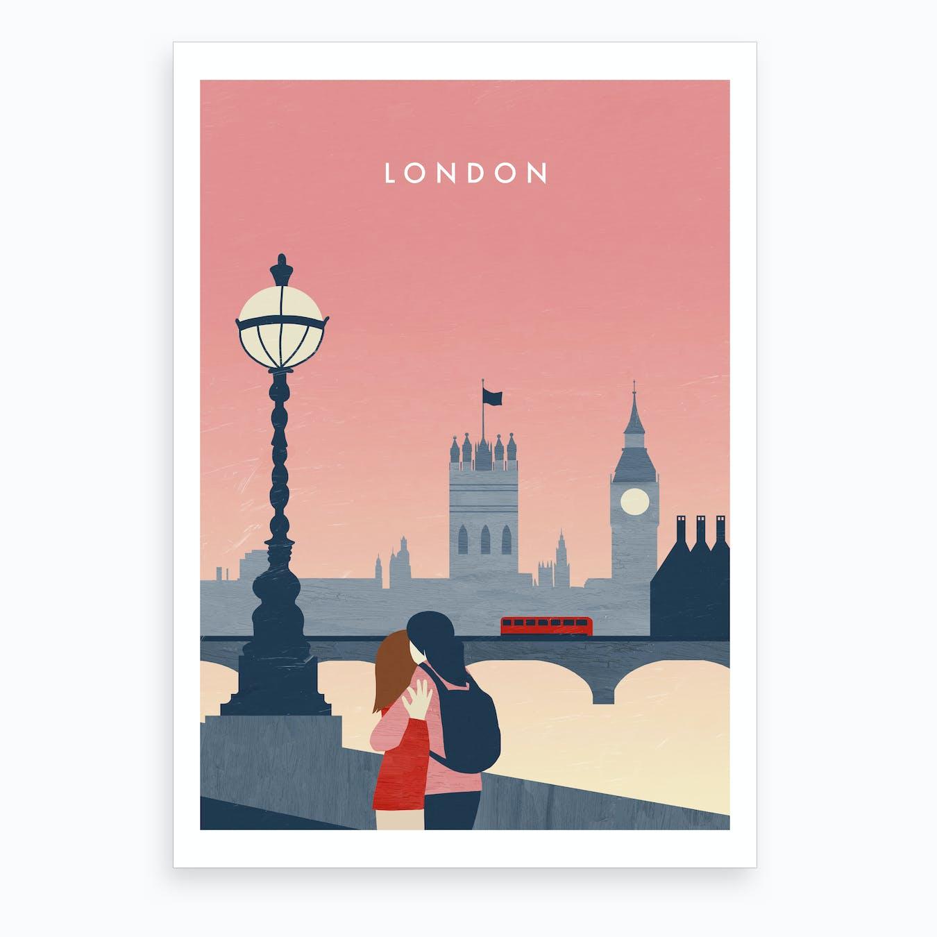 London Illustration Art Print