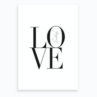 Endless Love Art Print