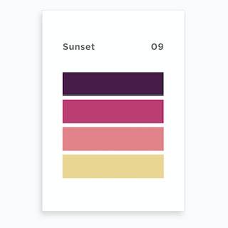 Sunset 9 Art Print