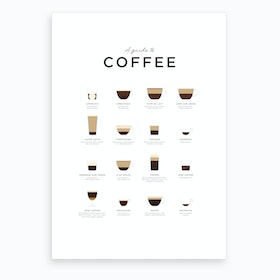 Coffee X Art Print