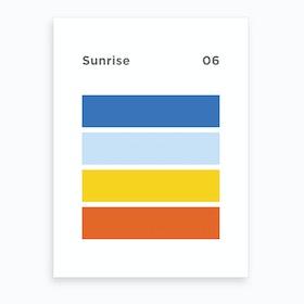 Sunrise 06 Art Print