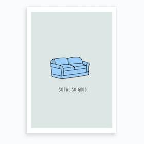 Sofa Art Print