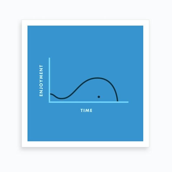 9d3b14c69ccb95 Whale Of a Time Art Print by Jaco Haasbroek - Fy