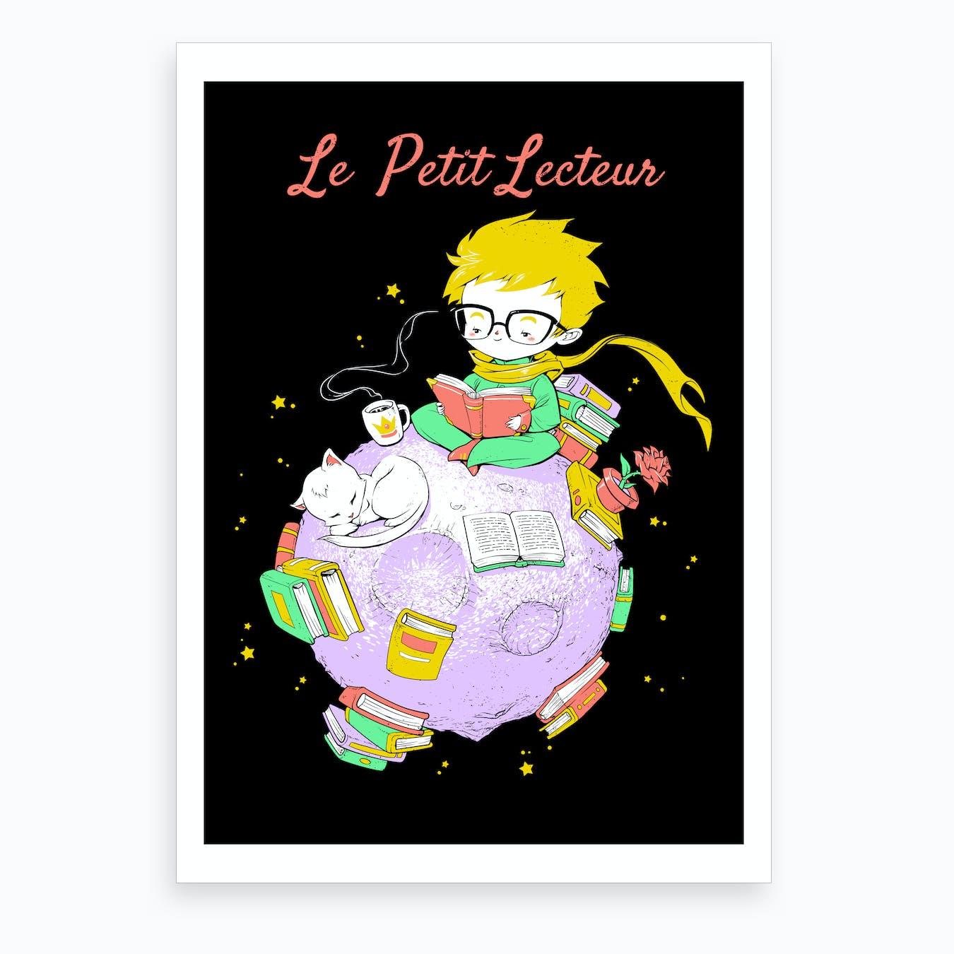 Le Petit Lecteur - The Little Reader Art Print
