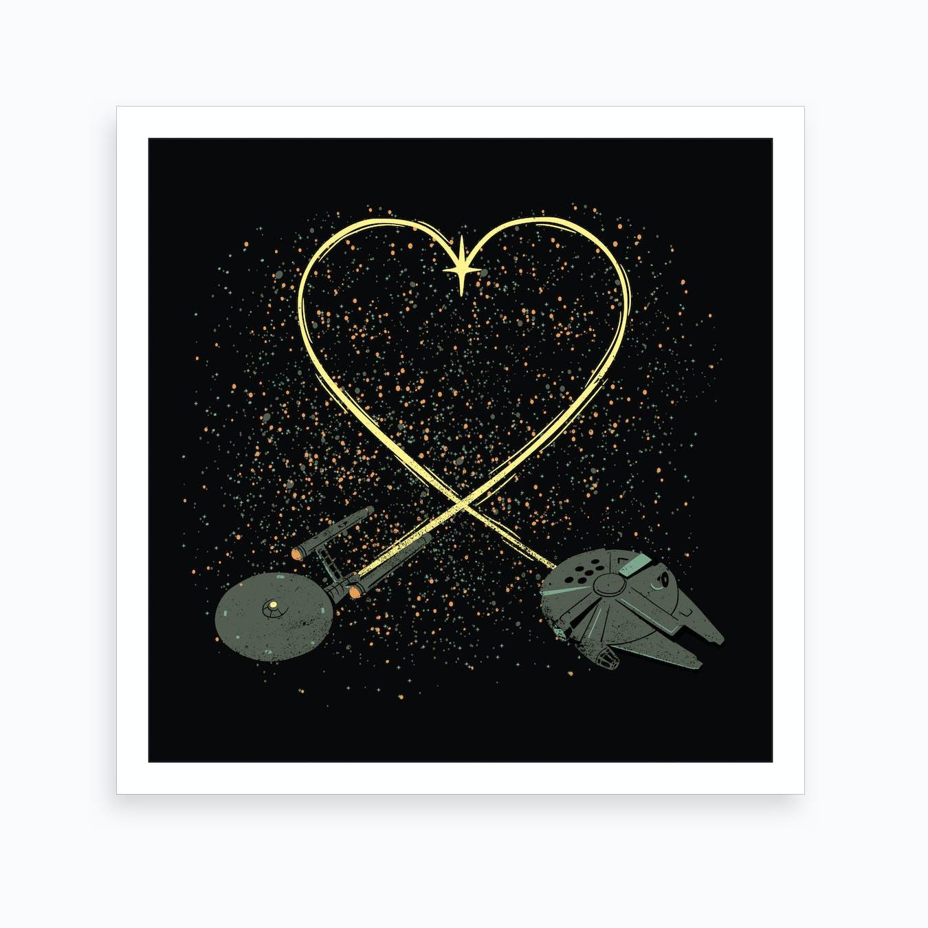 Wars Love Art Print