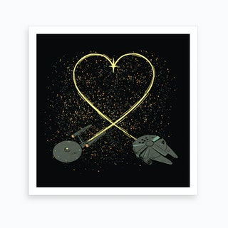 Wars Love Art Print