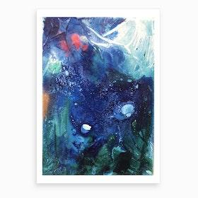 Bright Ocean Life Art Print