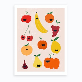 Fruit & Veggies Art Print