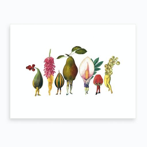 Garden Pixies Art Print