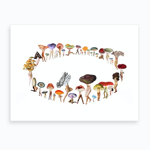 Pixie Ring Art Print