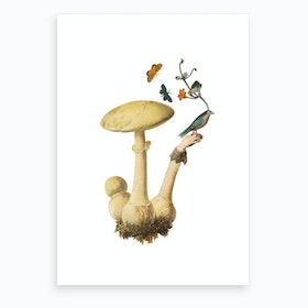 Bird in the Hand #1 Art Print