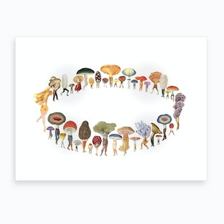 Fairy Ring Art Print