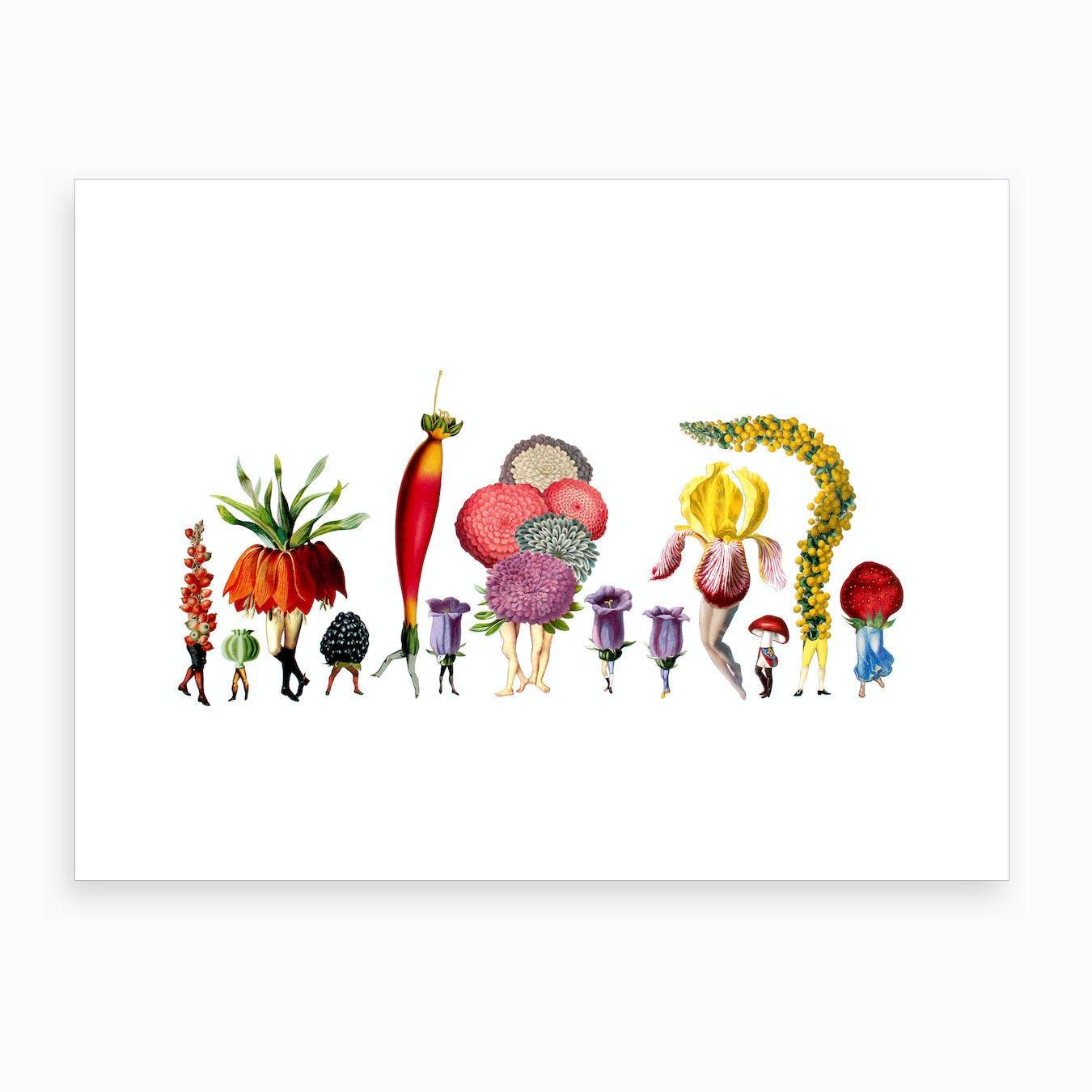 Garden Party Art Print