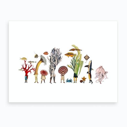 Seascape #2 Art Print