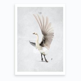 Lake X Art Print