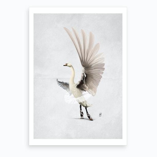 Lake (Wordless) Art Print