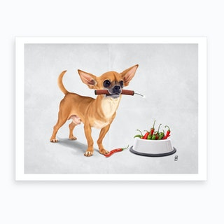 Spicy (Wordless) Art Print