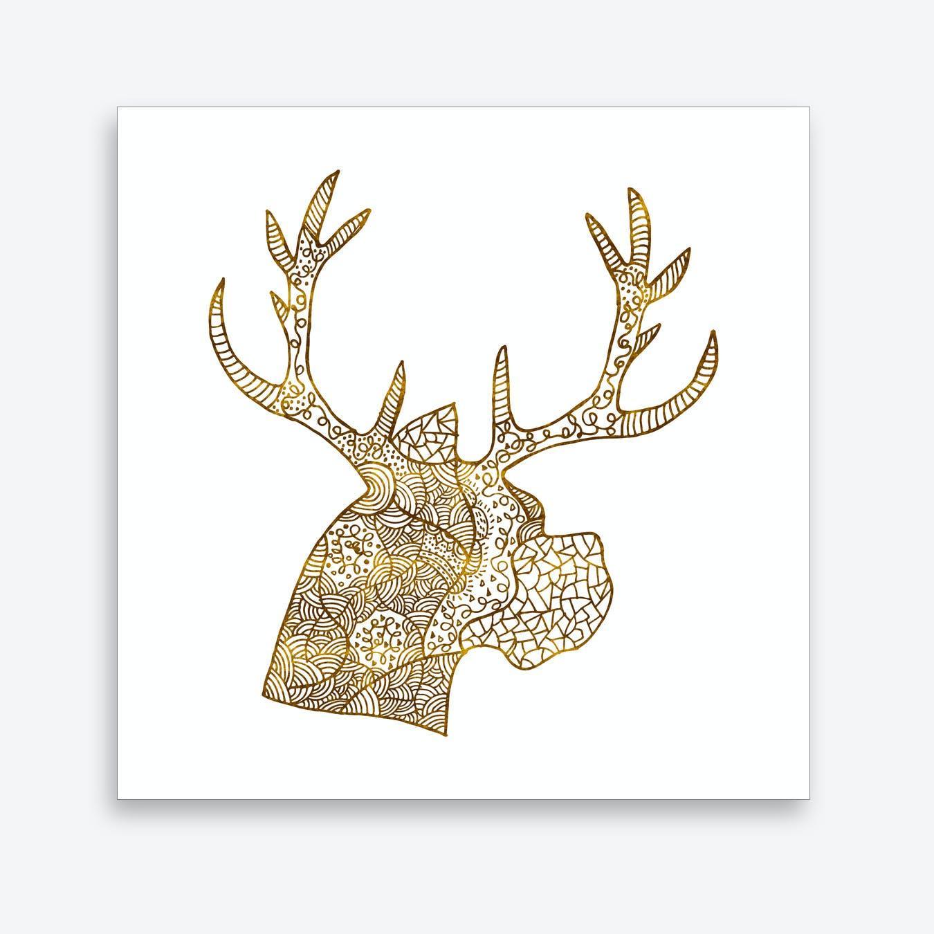 Pattern of Deer