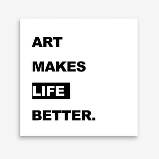 Better Life Art Print
