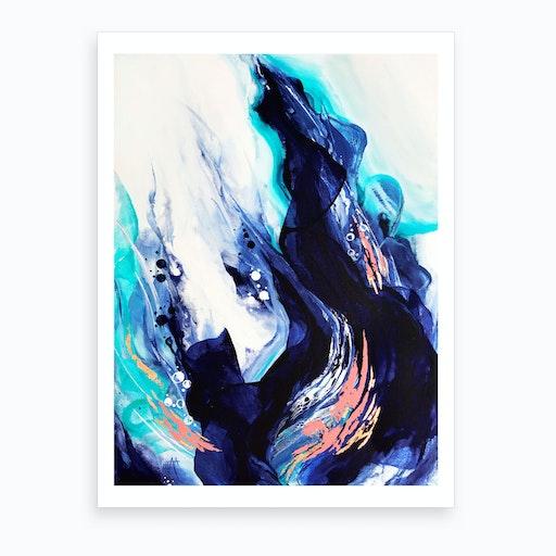 Crashing Wave I Art Print