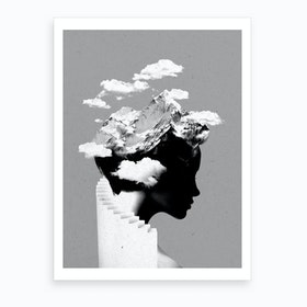 Its A Cloudy Day Art Print
