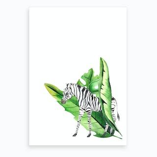 In The Jungle VI Art Print