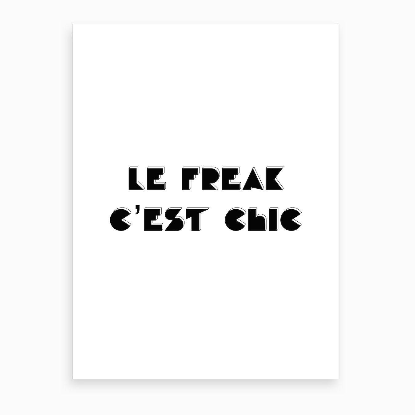 Le Freak I