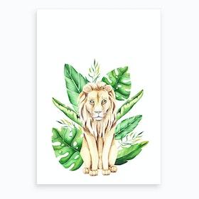 In The Jungle V Art Print