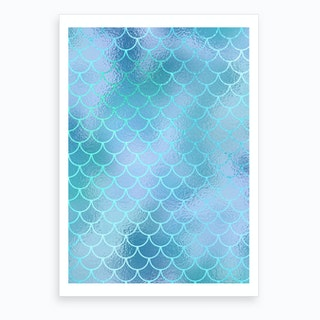 Mermaid IV Art Print